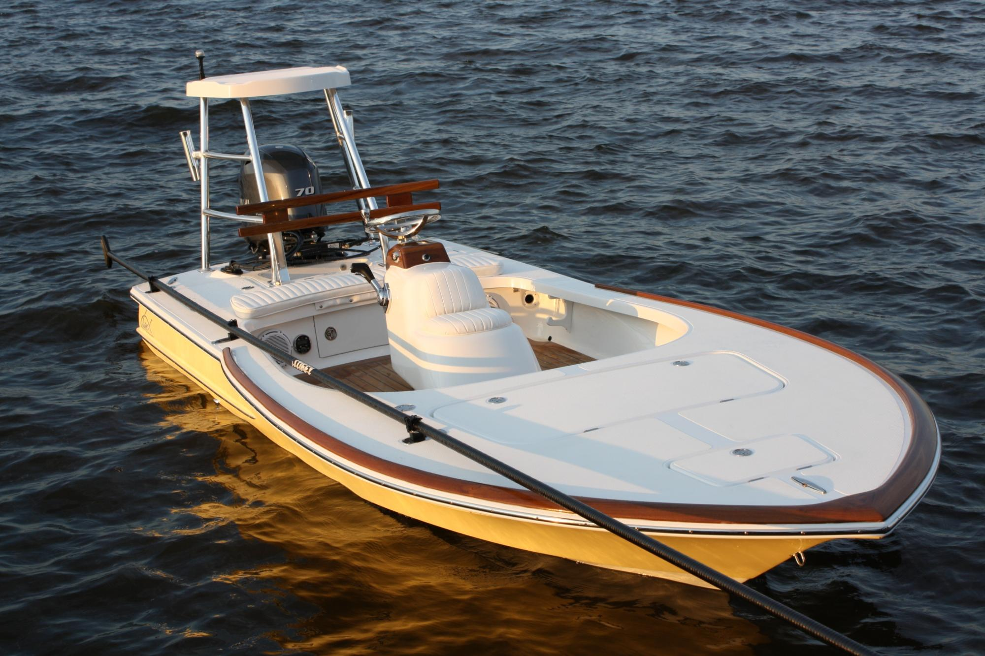 Chaos 16 Bonefish with teak package